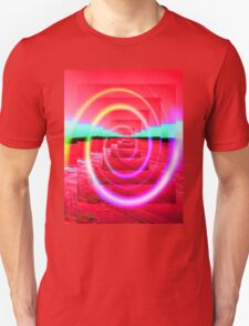 Red Abstract 2 Unisex T-Shirt