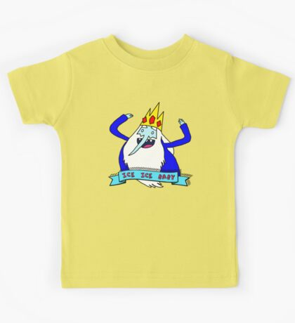 vanilla ice king Kids Tee