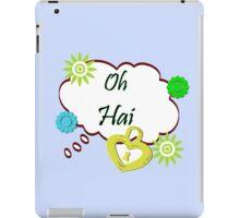 Oh Hai iPad Case/Skin