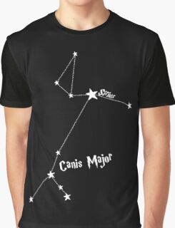 Constellation | Sirius (Canis Major) Graphic T-Shirt