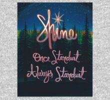 Shine; Once Stardust Always Stardust Baby Tee