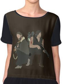 Daryl Dixon and Rick Grimes - The Walking Dead Chiffon Top