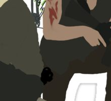 Daryl Dixon and Rick Grimes - The Walking Dead Sticker