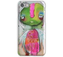 Turtle Girl  iPhone Case/Skin