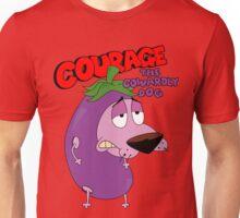Courage, The Cowardly Dog Unisex T-Shirt