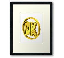 dk coin Framed Print