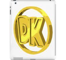 dk coin iPad Case/Skin