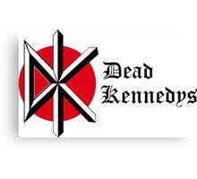 Retro Punk Restyling Dead kennedys Canvas Print