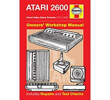 Haynes Manual - Atari 2600 console - Poster and stickers Photographic Print