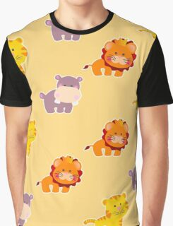 Seamless pattern african animals Graphic T-Shirt
