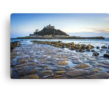 St Michaels Mount Cornwall Canvas Print