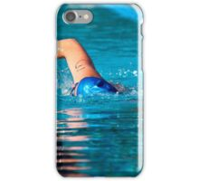 Swimmer iPhone Case/Skin