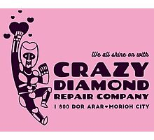 Crazy Diamond Repair Co. [1-Color Ver.] Photographic Print