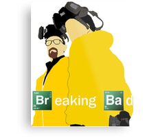 Jesse and Walt - Breaking Bad (with Logo) Metal Print