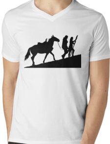 xena gabrielle and argo warrior princess Mens V-Neck T-Shirt