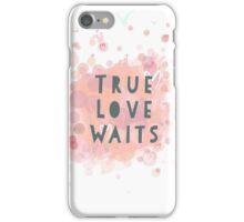 Radiohead - true love waits  iPhone Case/Skin
