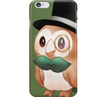 Sir Rowlet iPhone Case/Skin