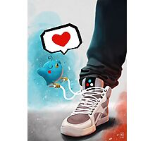 sneaker Love Photographic Print