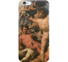 Cornelis Cornelisz. Van Haarlem - The Fall Of The Titans 1588-1590 iPhone Case/Skin