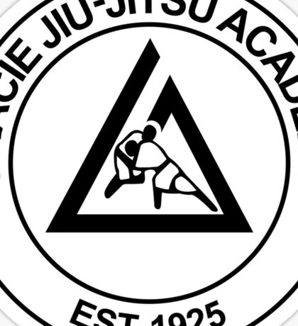 GRACIE BRAZILIAN JIU-JITSU Sticker