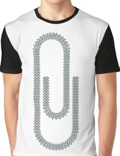 Paperclip Graphic T-Shirt