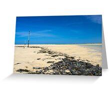 Porthkidney Sands Beach Cornwall England Greeting Card