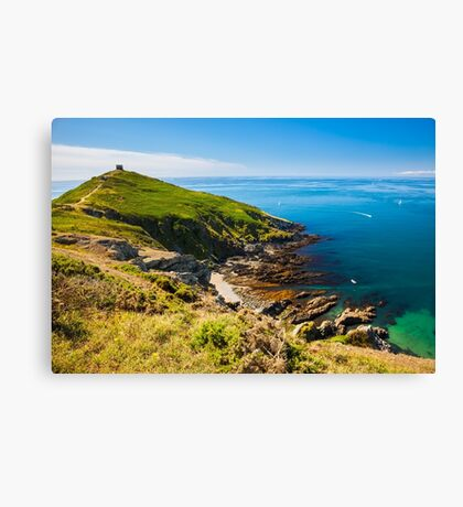 Rame Head Cornwall England Canvas Print
