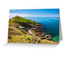 Rame Head Cornwall England Greeting Card