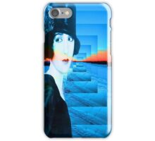 Top hat with snow iPhone Case/Skin