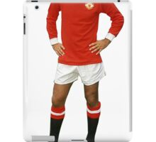 GEORGE BEST, YOUR HEAD (SELECT WHITE COLLAR) iPad Case/Skin