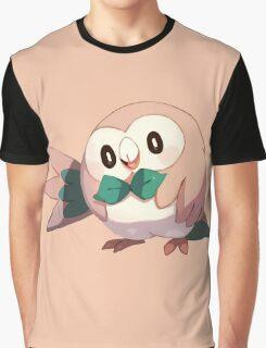 Rowlet - Pokemon Sun / Moon Graphic T-Shirt