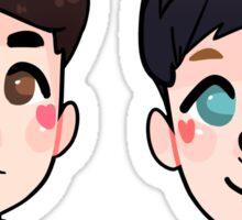 Dan & Phil as Shibes Sticker Pack Sticker