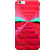 Red Abstract iPhone Case/Skin