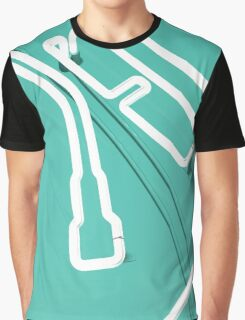 Neon Turntable 3 - 3D Art Graphic T-Shirt