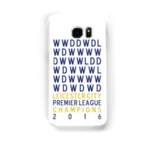 Leicester City FC Premier League Champions Results 2015-2016 Samsung Galaxy Case/Skin