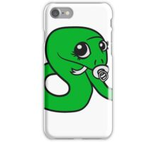 baby, infant pacifier snake sweet cute kawaii comic cartoon funny iPhone Case/Skin