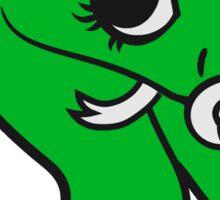 baby, infant pacifier snake sweet cute kawaii comic cartoon funny Sticker