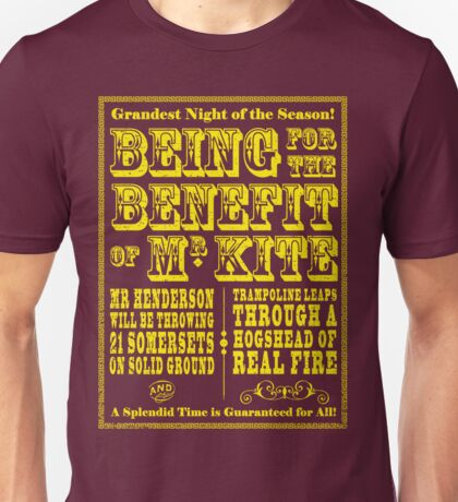 Being for the Benefit of Mr Kite - Colourway 2 Unisex T-Shirt
