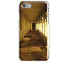 Abandoned corridors iPhone Case/Skin