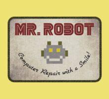 Mr. Robot Patch Kids Tee