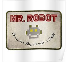 Mr. Robot Patch Poster