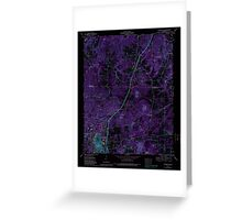 USGS TOPO Map Alabama AL Russellville 304986 1971 24000 Inverted Greeting Card