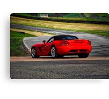 Dodge Viper SRT/10 Roadster Canvas Print