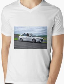 2011 Audi A4-2 Sports Sedan Mens V-Neck T-Shirt