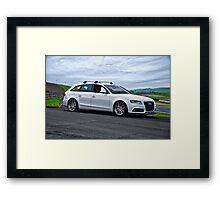 2011 Audi A4-2 Sports Sedan Framed Print