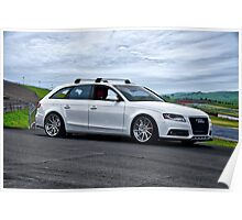 2011 Audi A4-2 Sports Sedan Poster