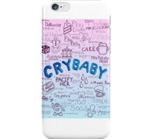 Cry Baby Album Songs iPhone Case/Skin