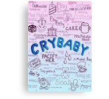 Cry Baby Album Songs Canvas Print