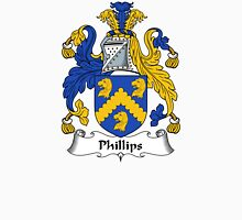Phillips Coat of Arms / Phillips Family Crest Unisex T-Shirt