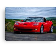2009 Corvette ZR1 Roadster Canvas Print